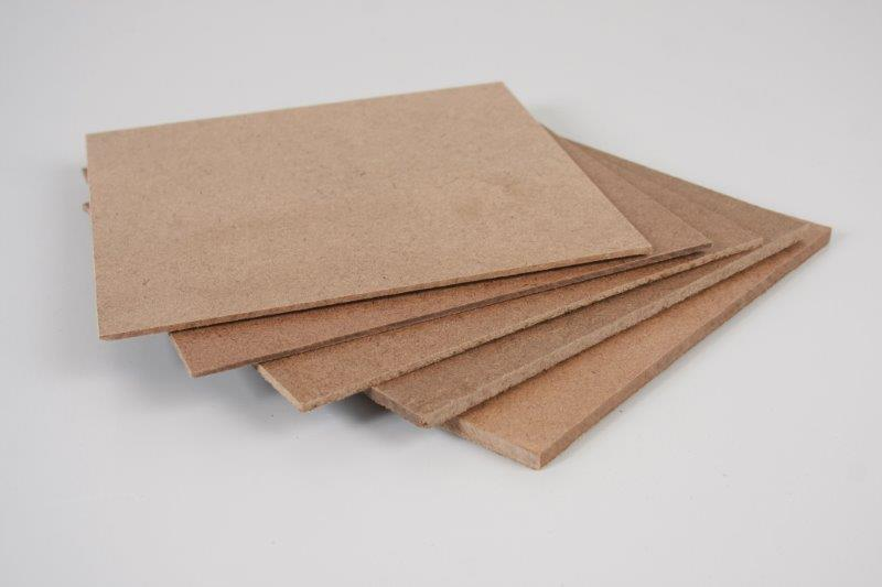 Chapa de fibra de madeira sob medida