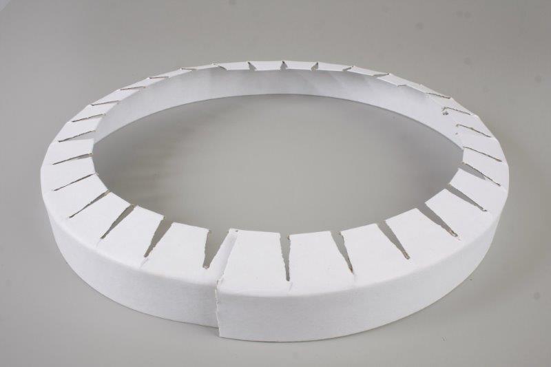 Fábrica de cantoneiras de papelão