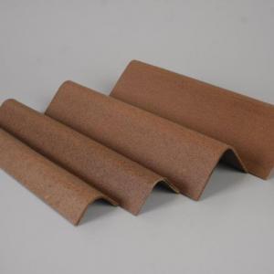 Cantoneira de fibra de madeira